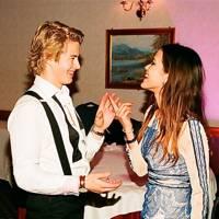 Mikkel Skajem and Sophie Wihlborn