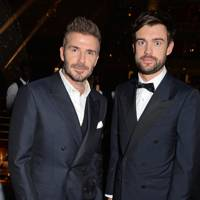 David Beckham and Jack Whitehall