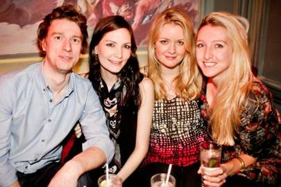 Chris Beard, Annabel Heaslop, Laura Higginson and Ninky Smith