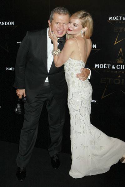 Mario Testino and Sienna Miller