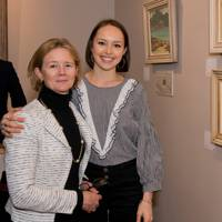 Sarah Bingham and Lottie Bingham