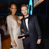 Jourdan Dunn and Dan Stevens