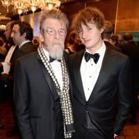 John Hurt and Nick Hurt