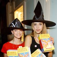 With sister Pixie in 2003