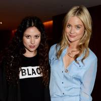 Eliza Doolittle and Laura Whitmore