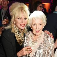 Joanna Lumley and June Whitfield