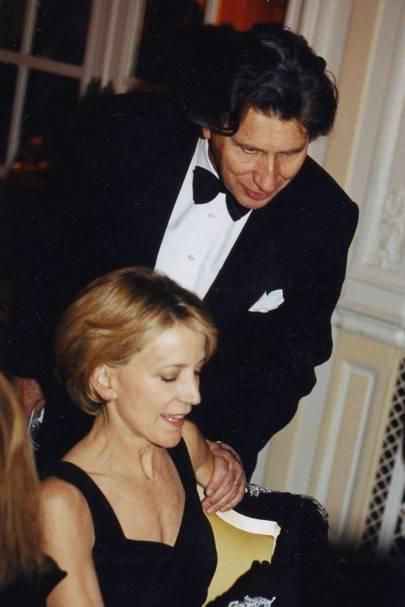 Diana Quasha and Arnaud Bamberger