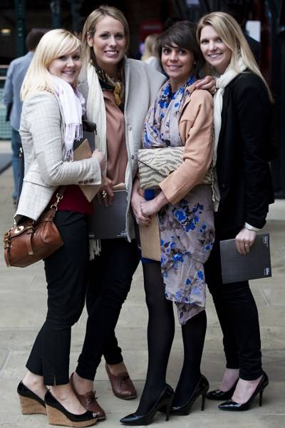 Sara Malt, Nicola Darwent-Peal, Stephanie Jinks and Katherine Sentilair-Adams