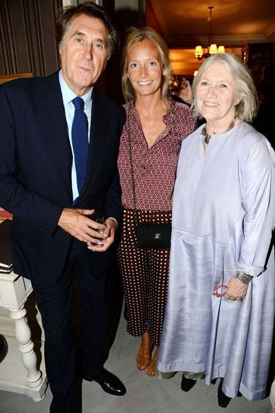 Bryan Ferry, Martha Ward and Audie Charles