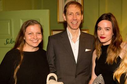 Charlotte Knight, Nick Knight and Lou Stoppard