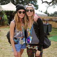 Clara Paget and Cara Delevingne