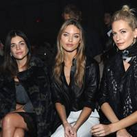 Julia Restoin Roitfeld, Martha Hunt and Poppy Delevingne