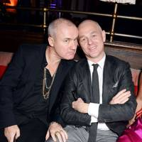 Damien Hirst and Jan Kennedy