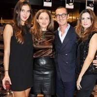 Viola Arrivabene Valenti Gonzaga, Alba Arikha, Bruno Frisoni and Livia Firth