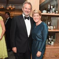 Hugh Bonneville and Clare Balding