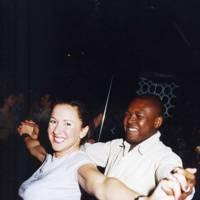 Cara Preissman and Dipo Ajenufuja