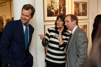 Oliver Barker, Bella Freud and David Dawson