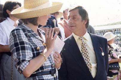 Mrs Alec Stewart and Henry Cecil