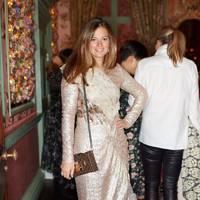 Serena Hood at Monica Vinader x Flowerbx Thanksgiving dinner at Annabel's