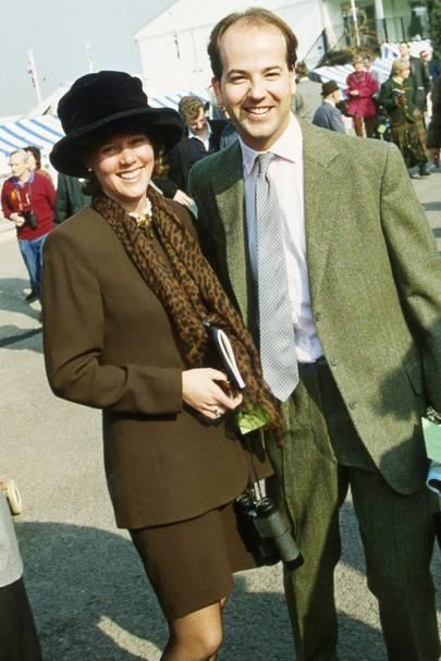 Mrs Mark Wiggin and Mark Wiggin