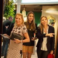 Eva O'Neill, Milana Abensperg Und Traun and Countess Natascha Abensperg Und Traun
