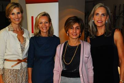 Suellen Khoury, Dominique Demeure, Martine Tabet and Susie Cochin de Billy