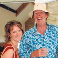 Mrs Simon Davies and Philip Fleming