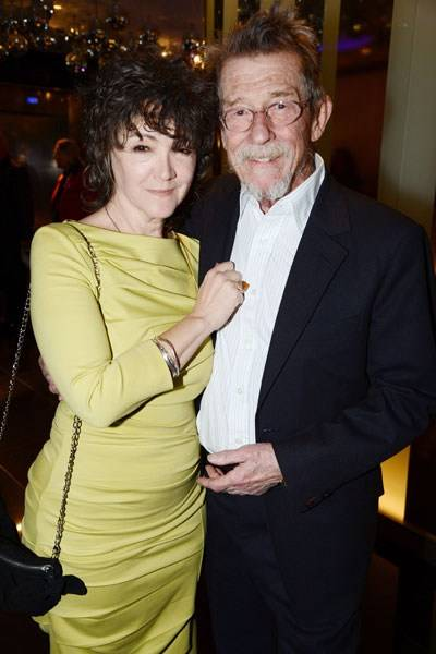 Ann Rees Meyers and John Hurt
