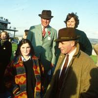 Emma Farquhar, Oliver Langdale, Captain Ian Farquhar and Mrs Alastair Jackson