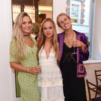 Isabella Samengo-Turner, Lady Amelia Windsor and Meg Boscawen