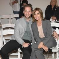 Derek Blasberg and Carine Roitfeld at Oscar de la Renta