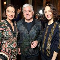 Laudomia Pucci, Tim Blanks and Nicole Phelps
