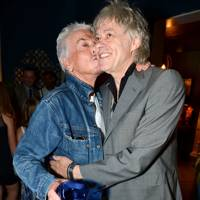 Nicky Haslam and Sir Bob Geldof