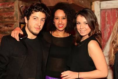 Matteo Franco, Nana Wereko-Brobby and Ioana Burcea