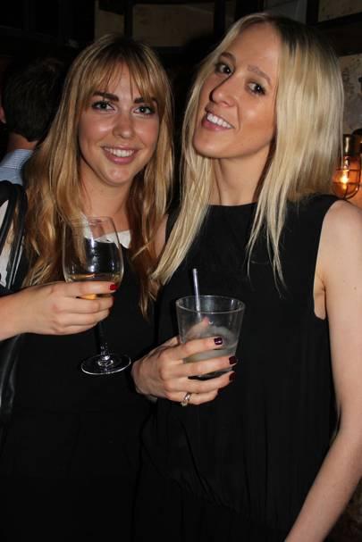 Jacqueline Burns and Jen Milne Skillman