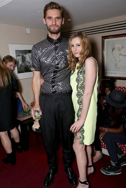 Anders Thompson and Laura Carmichael