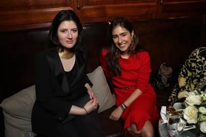 Carolina Santo Domingo and Maria Claudia Echavarria