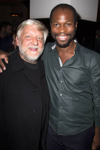 Simon Russell Beale and Stefan Adegbola