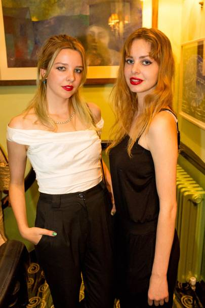 Greta Bellamacina and Cosima Bellamacina