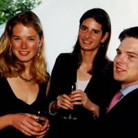Davina Duckworth-Chad, Susanna Hanbury and the Hon Harry Noel
