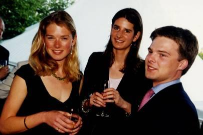 Davina Duckworth-Chad, Susanna Hanbury and the Hon Harry Noel