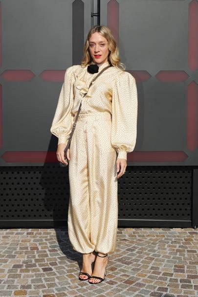 Chloë Sevigny at Gucci A/W18