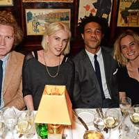 Hugh Harris, India Rose, Charlie Casely-Hayford and Sophie Ashby