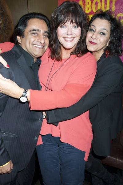 Sanjeev Bhaskar, Josie Lawrence and Meera Syal
