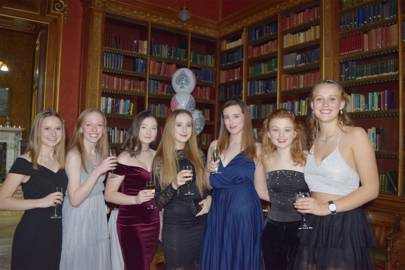 Abigail Whittham, Madeline Brady, Erin Phoenix, Isobel Griffiths, Molly Bond, Harriet Shaw and Katie Battishil