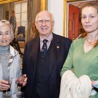 Lady Worcester, Bob Worcester and Eleanor Boorman