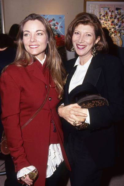 Theresa Russell and Nona Summers