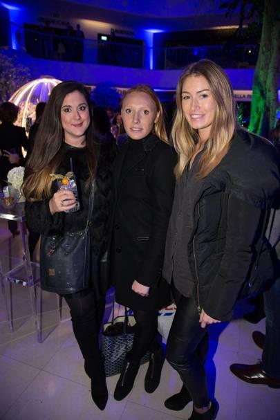 Mandy Keki, Arabella Kaye and Lydia Allen