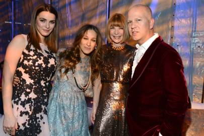 Bee Shaffer, Sarah Jessica Parker, Anna Wintour and Ryan Murphy