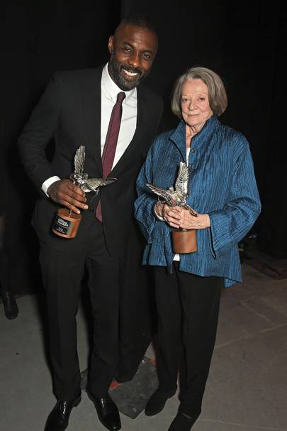 Idris Elba and Dame Maggie Smith